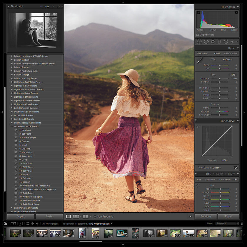 The Luxe Lens | Premium Lightroom Presets and Photoshop Actions