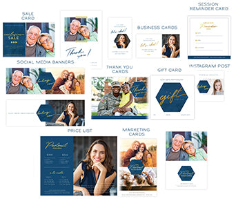 Luxe Professional Portraits Marketing Kit