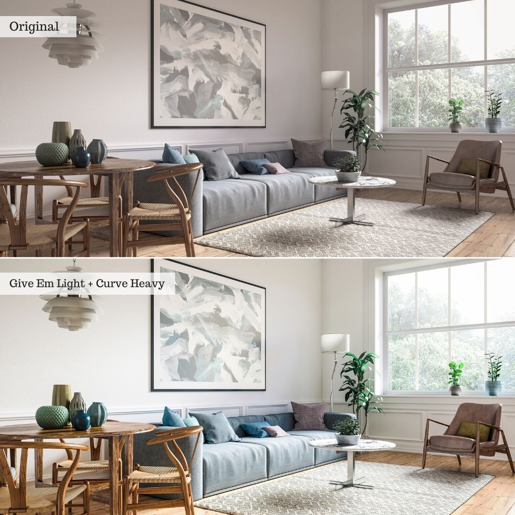 Interior Design & Real Estate Lightroom Presets – Desktop & Mobile