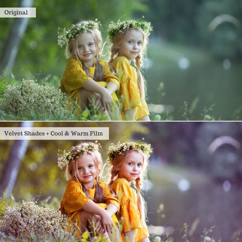 Painterly Pastels Photoshop Actions
