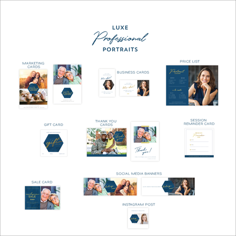 Professional Portraits Marketing Kit for Portrait Photographers