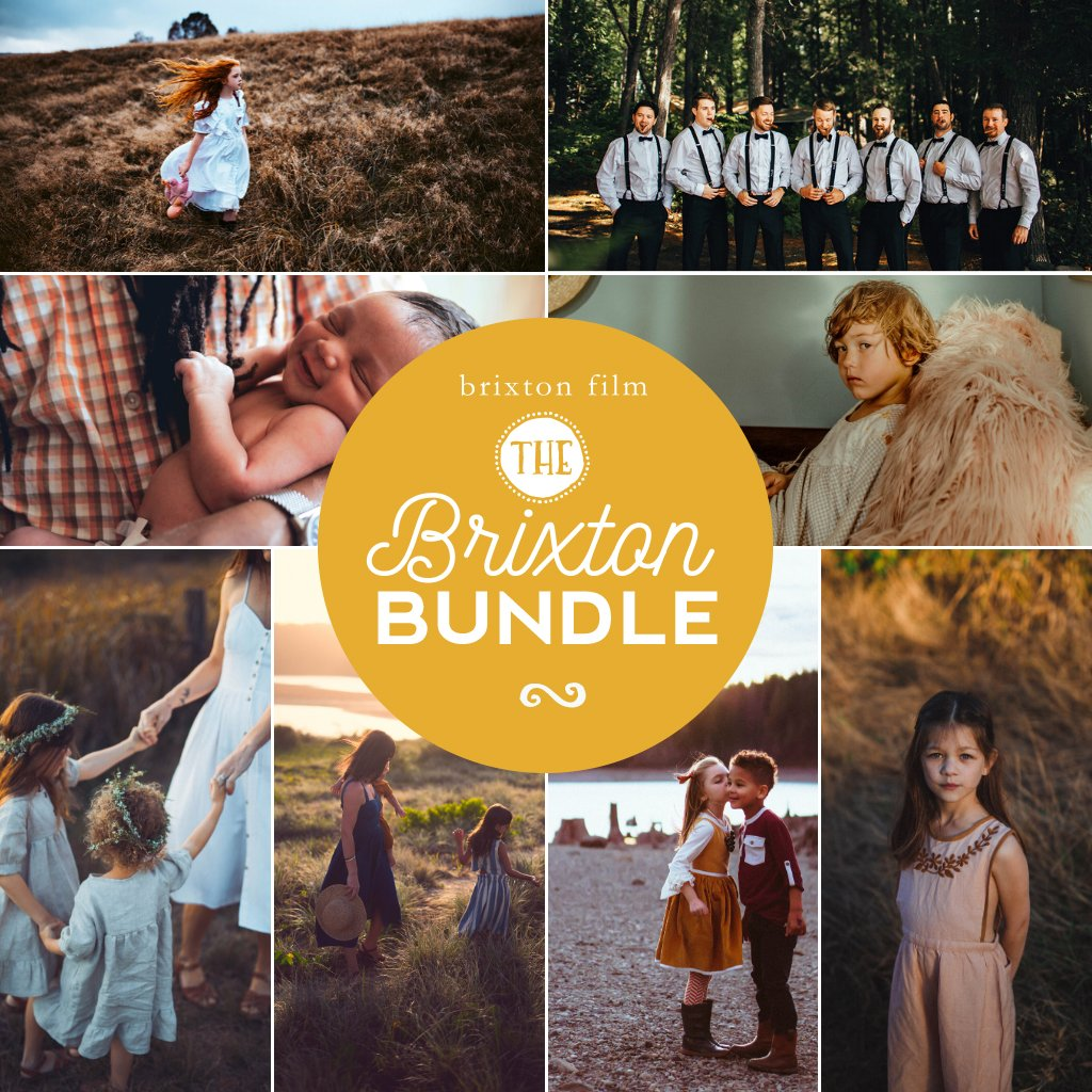 Brixton Film Preset Bundle (10 collections) for Lightroom & Photoshop