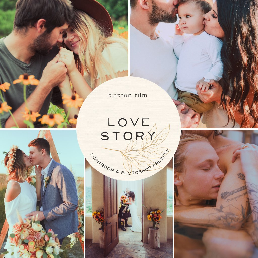 Love Story Lightroom Presets – Desktop & Mobile