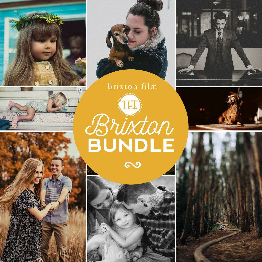 Brixton Film Preset Bundle (5 collections) for Lightroom & Photoshop