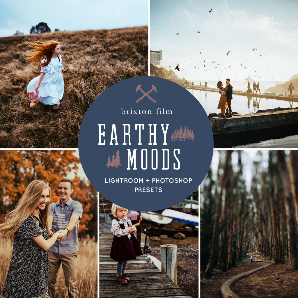 Earthy Moods Lightroom Presets