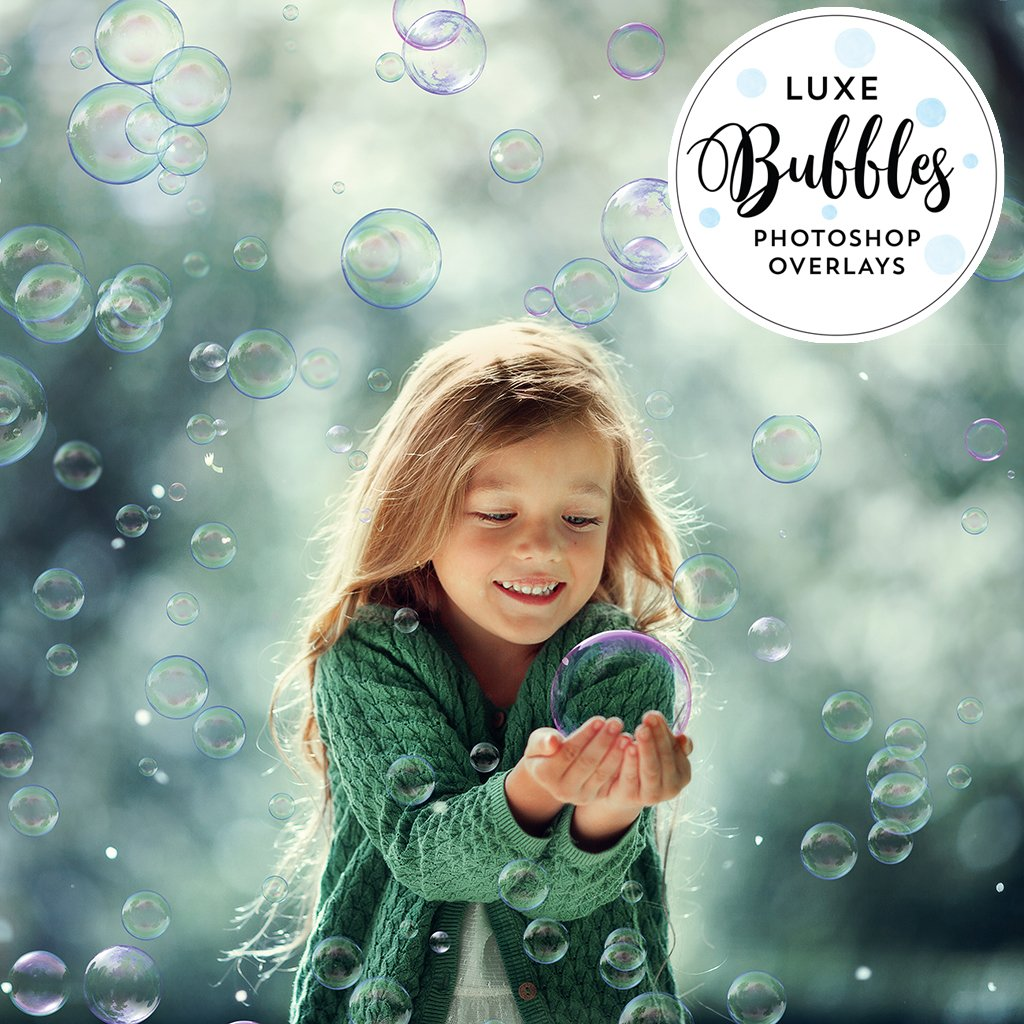 Bubble Overlays – Photoshop & More