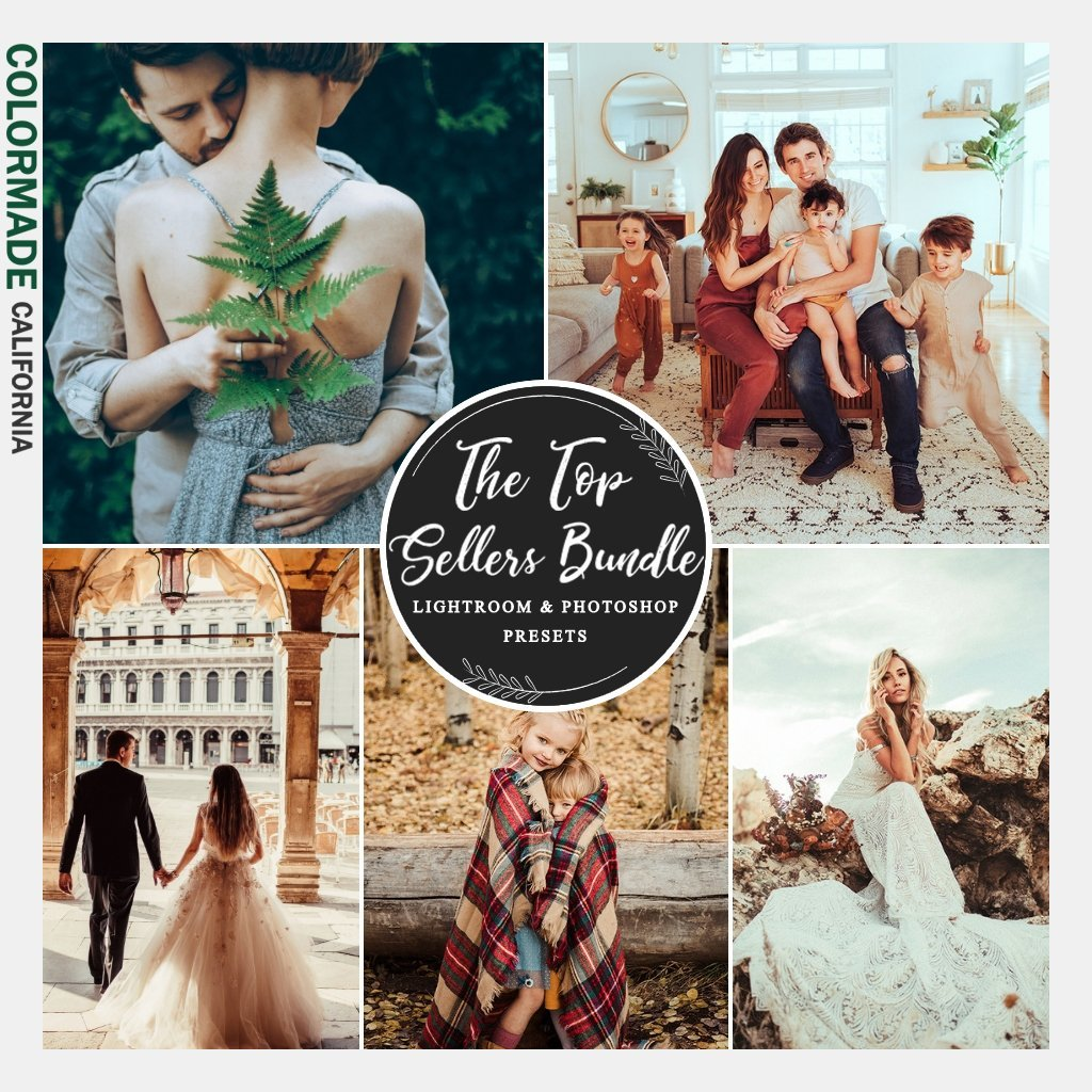 The ColorMade Labs & DigiFilm Best Sellers Lightroom Preset Bundle (5 top-selling collections)