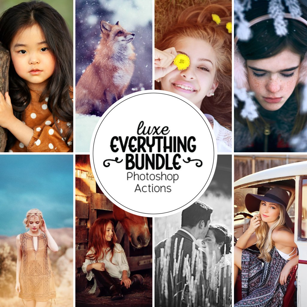 Everything Actions Bundle for Photoshop or Elements
