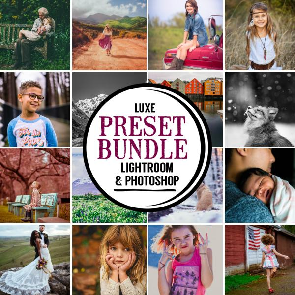 Luxe Preset Bundle (14 collections) for Lightroom & Photoshop