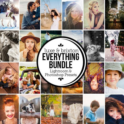 [Bundle] Everything - ALL Luxe & Brixton Film Presets for LR/ACR