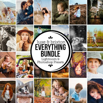 [Bundle] Everything - ALL Luxe & Brixton Film Presets for LR/ACR (18 Preset Collections)