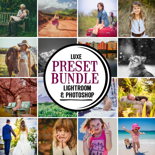 Luxe Preset Bundle (13 collections) for Lightroom & Photoshop