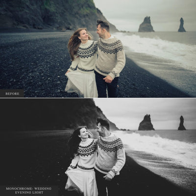 Monochrome Weddings Lightroom Presets