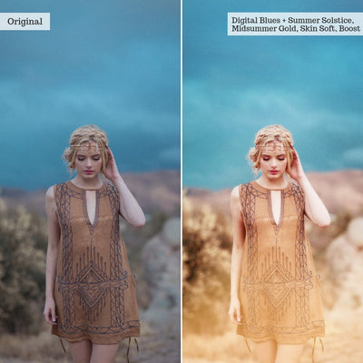 Luxe Creative Workflow Photoshop Actions