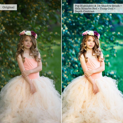 Luxe Perfect Portraits Portraits Photoshop Actions