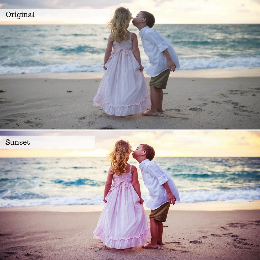 Kids on a beach demonstrating Photographer Wedding Bundle