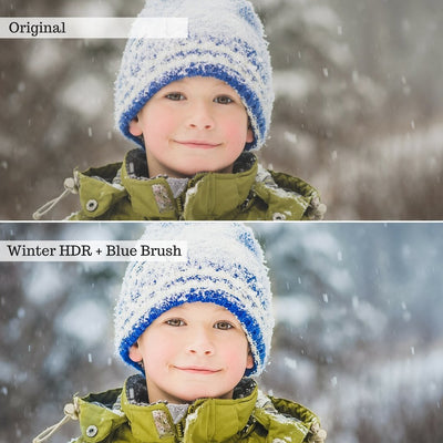 Luxe Let it Snow! Winter Lightroom & Photoshop Presets