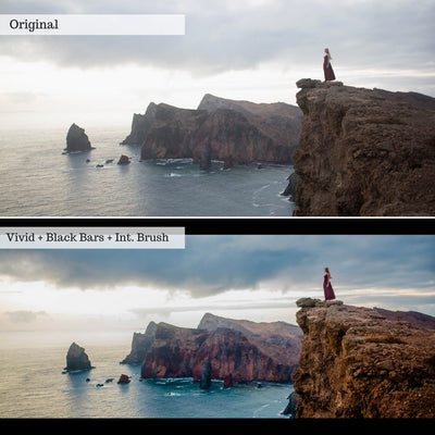Cinematic HDR Lightroom Presets