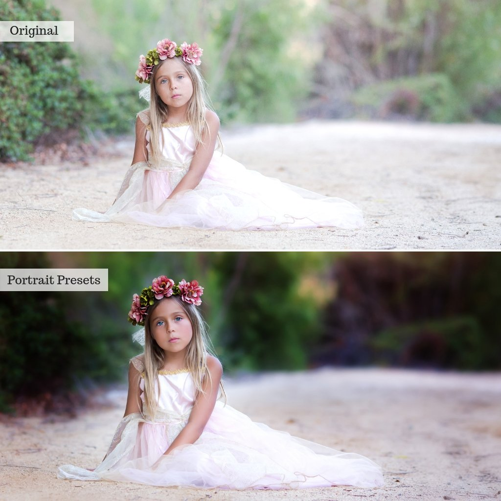 Luxe Portraits Lightroom Presets