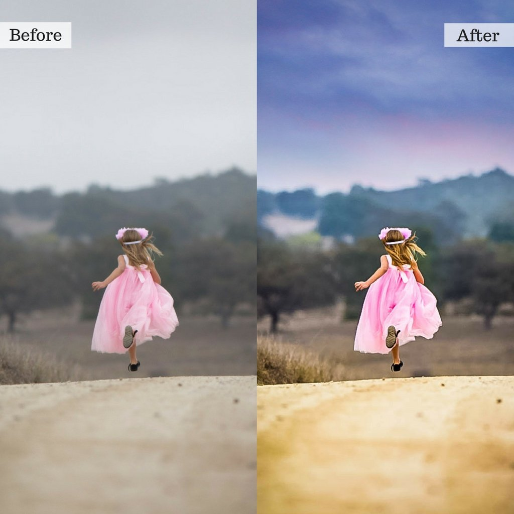 Sky Overlays & Photoshop Actions