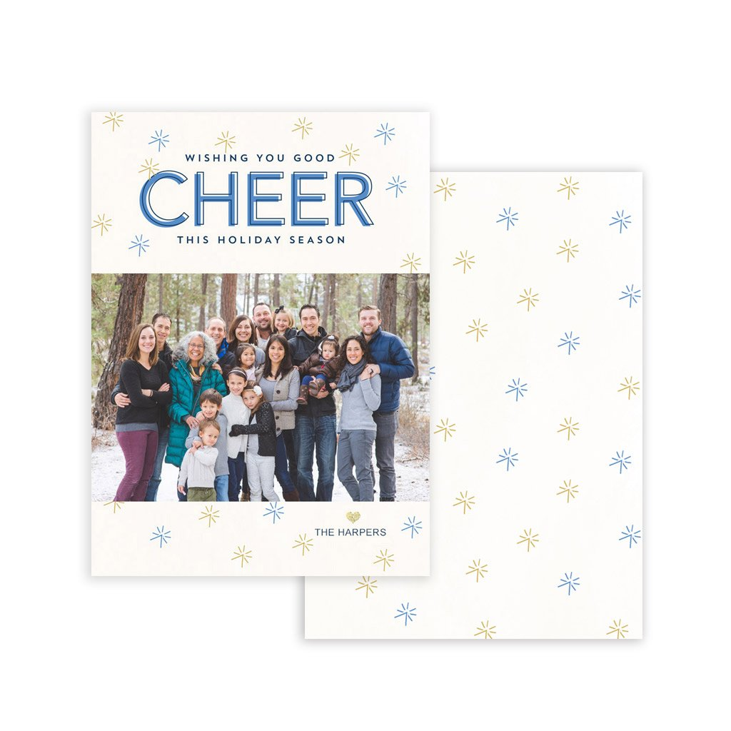 Holiday Card Template - Cheer