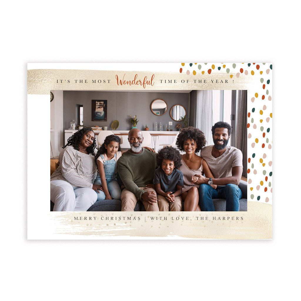 Holiday Card Template - Modern Clean