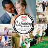 Collage of professional wedding photos