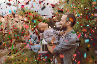 Luxe Confetti Photoshop Overlays