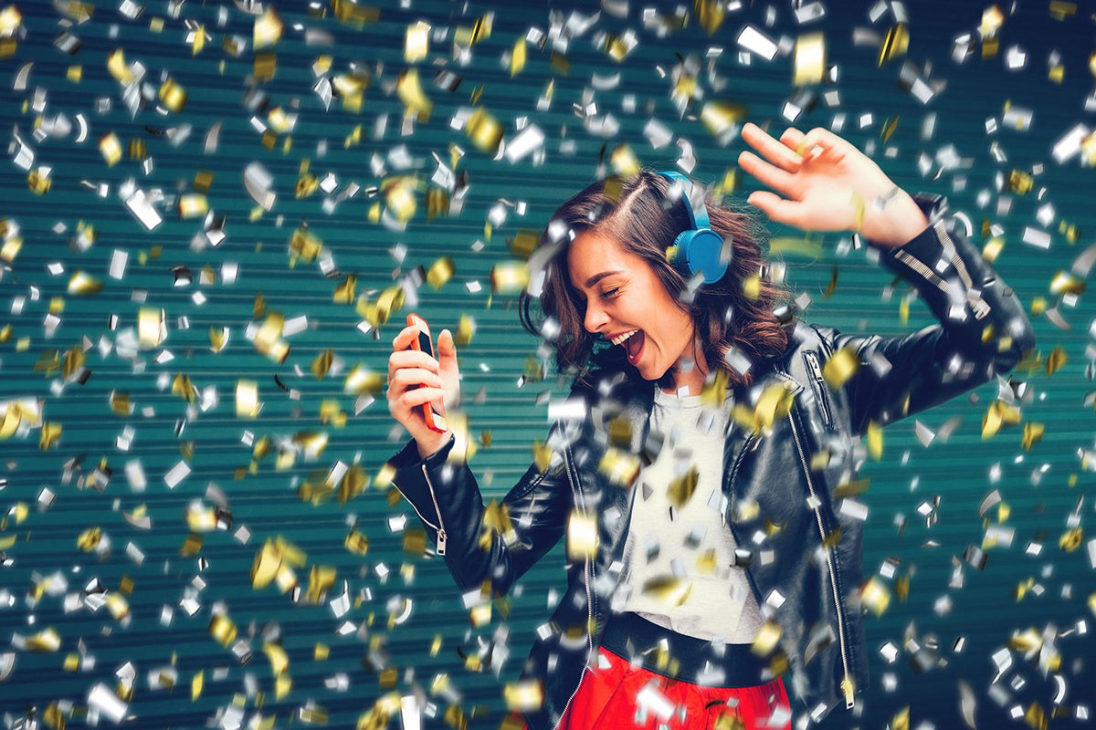 Confetti Photoshop Overlays