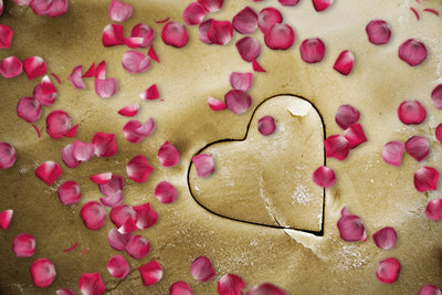 Luxe Falling Rose Petal Photoshop Overlays