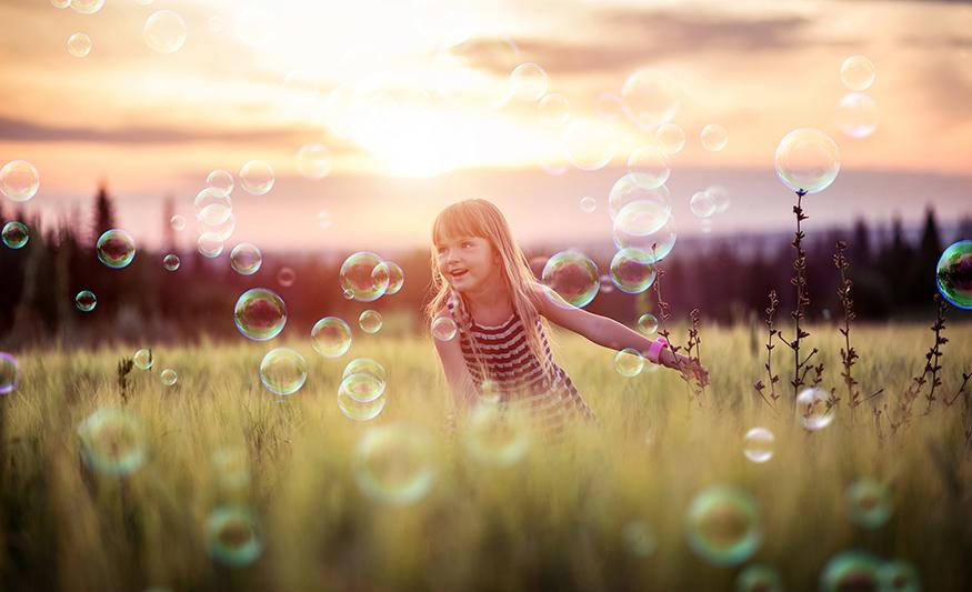 Bubbles Photoshop Overlays