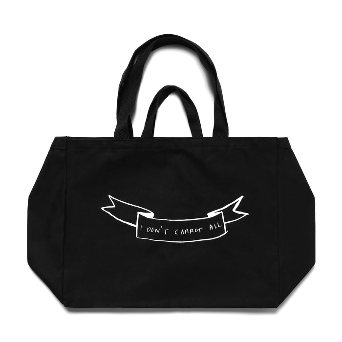 CARROTS X DEER DANA BUNDLE TOTE BAG - BLACK