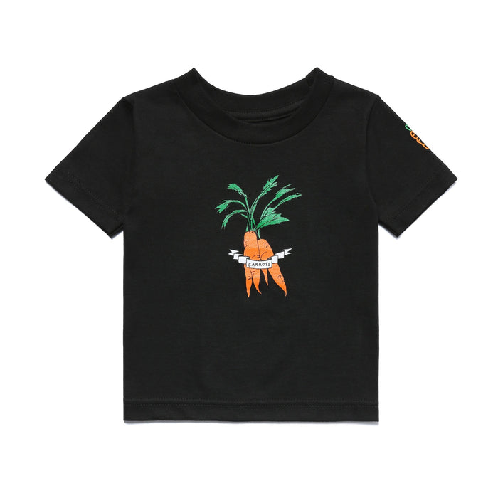CARROTS X DEER DANA BUNDLE KID'S TEE - BLACK