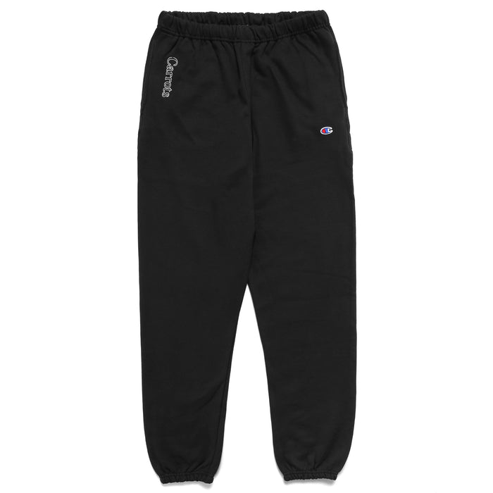 YOHOOD NEON SWEATPANTS - BLACK