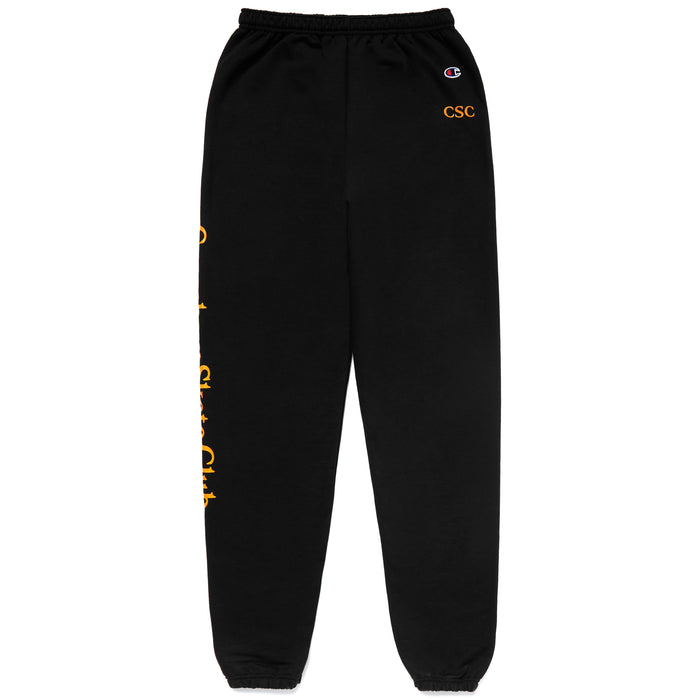 CSC CARROT SWEATPANTS - BLACK