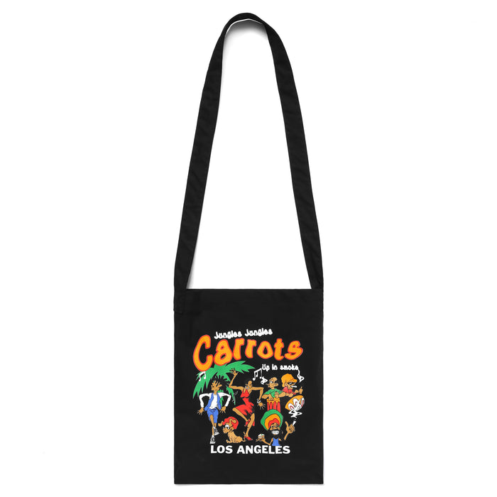 UP IN SMOKE TOTE BAG - BLACK
