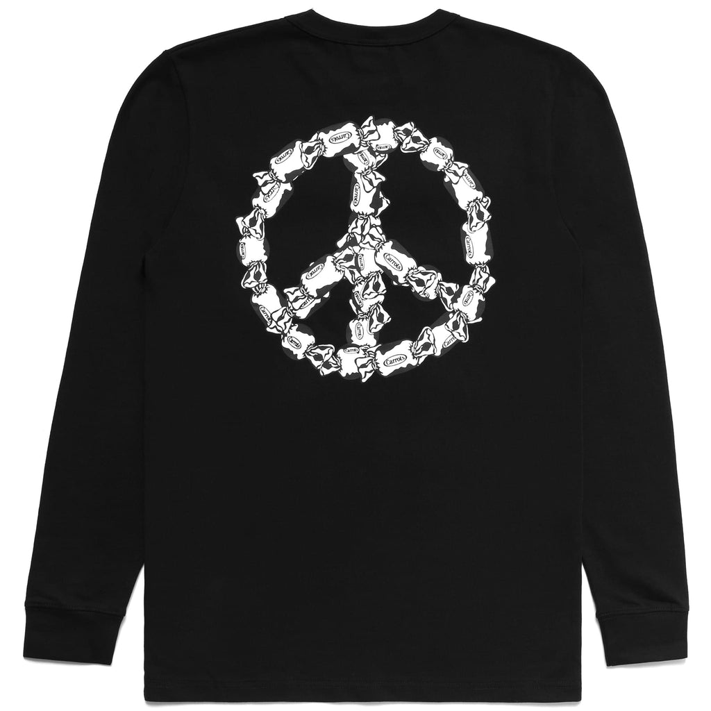 PEACE OF CANDY longsleeve - BLACK