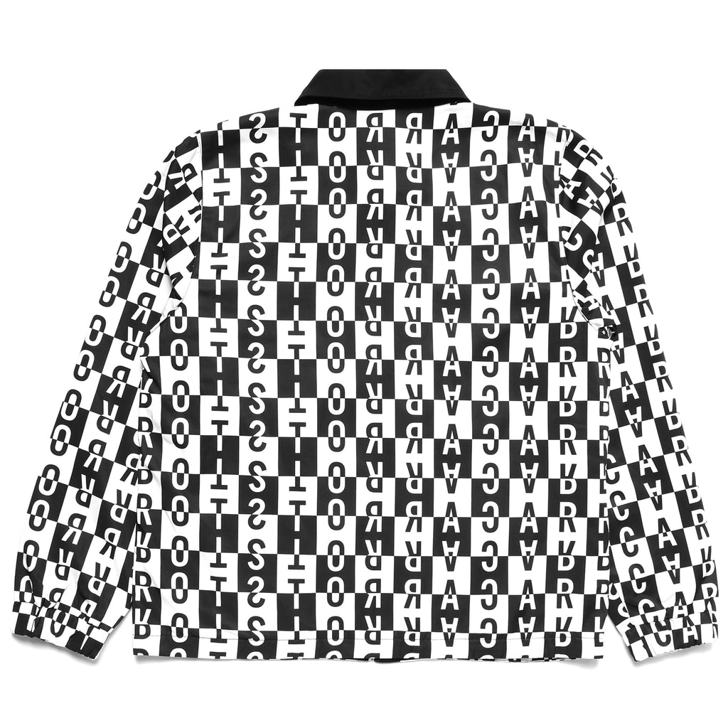 CARROTS BLOCK COACHES JACKET - Black & White