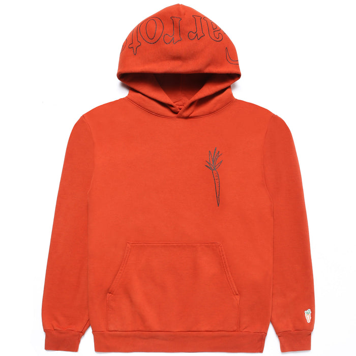 CARROTS X DEER DANA I DON'T CARROT HOODIE - ORANGE