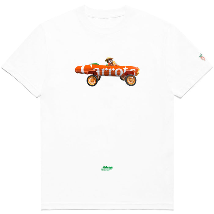 CARROTS DONK TEE - WHITE