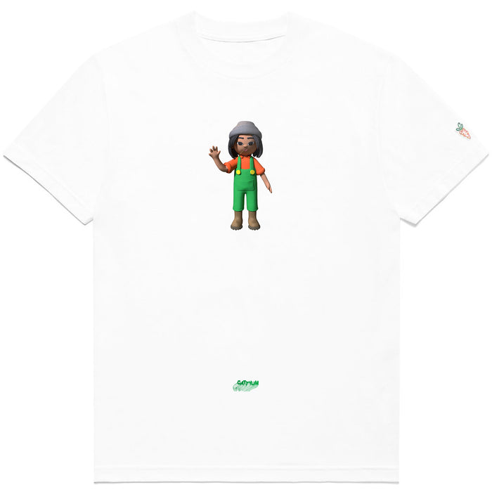 FARMER TAJ TEE - WHITE