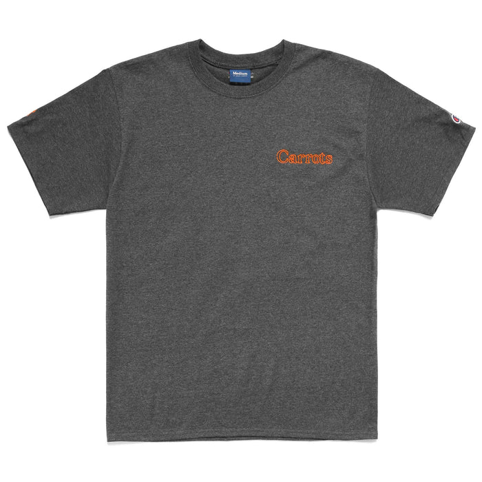 YOHOOD NEON T-SHIRT - HEATHER GREY