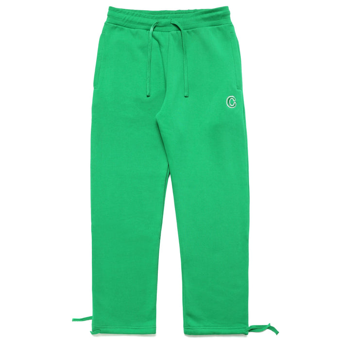 C PATCH SWEATPANTS - GREEN