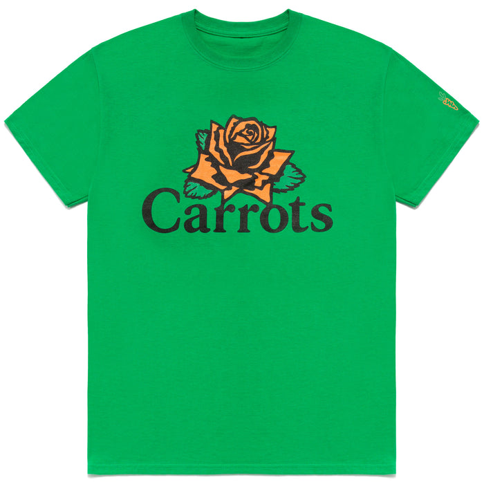 Rose Wordmark Tee - Green