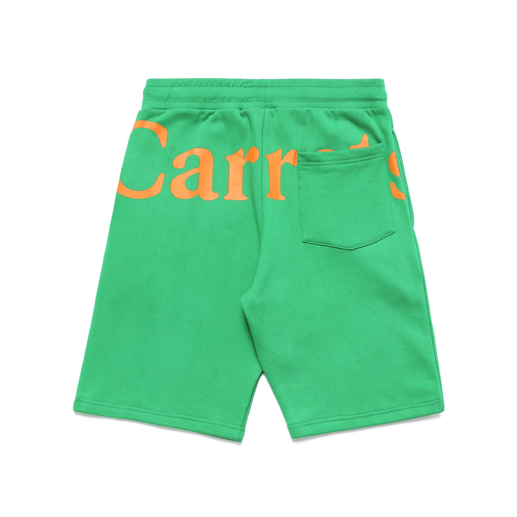 WORDMARK SWEAT SHORTS - GREEN