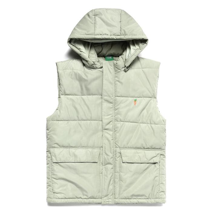 SIGNATURE ONE POINT VEST - SAGE GREEN