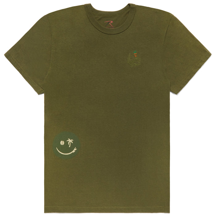 CARROTS ARMY TEE - OLIVE