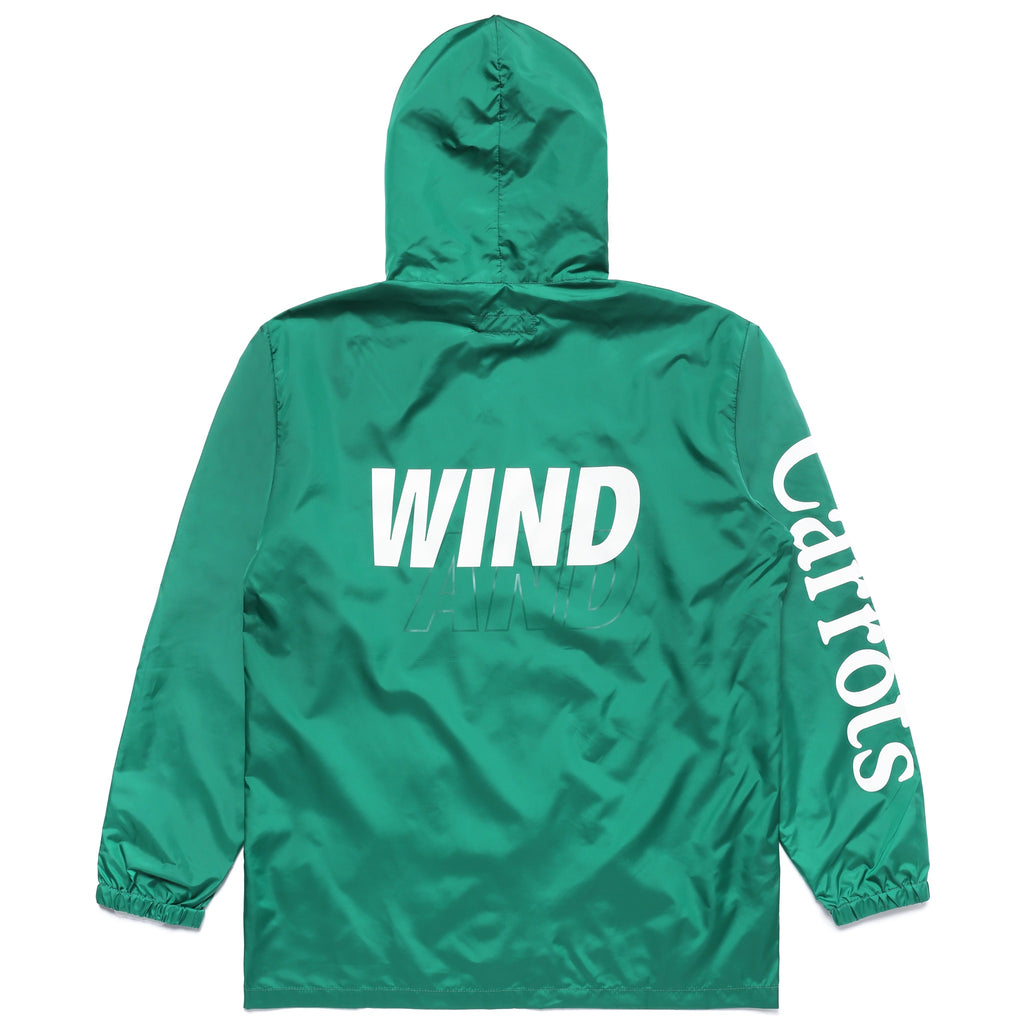CARROTS X WIND & SEA Nylon Jacket - GREEN