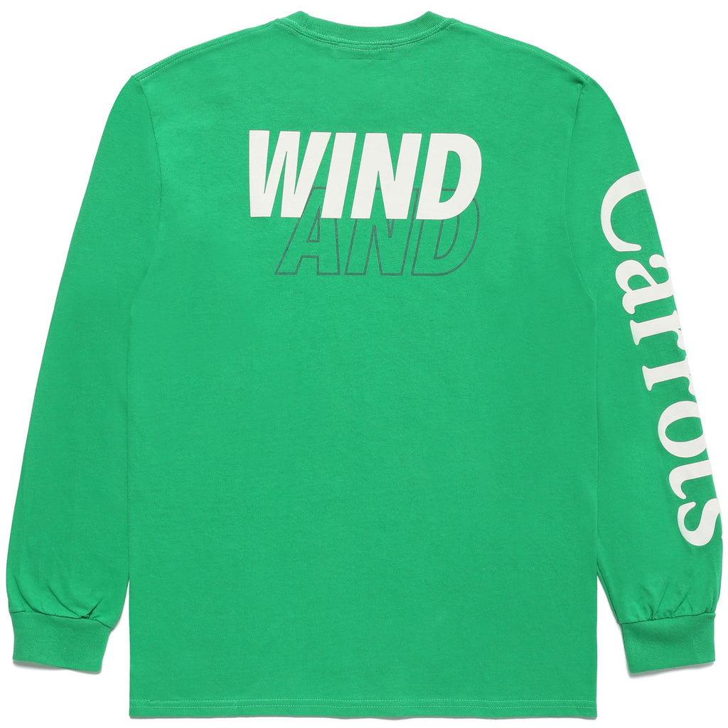 CARROTS X WIND & SEA Nylon LONGSLEEVE - GREEN