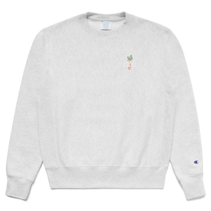 CSC CARROT CREWNECK - HEATHER